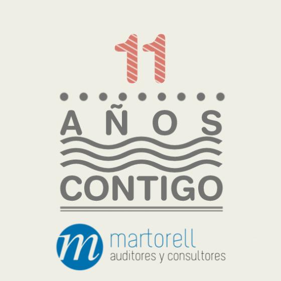 Martorell Auditores y Consultores cumple 11 años.