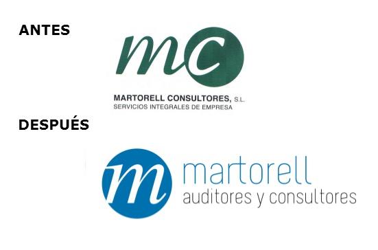 'Martorell Consultores' pasa a ser 'Martorell Auditores y Consultores' y estrena nuevo logo
