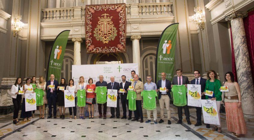 Martorell Auditores y Consultores estuvo presente en la presentación de la III edición de 'Valencia contra el cancer'.